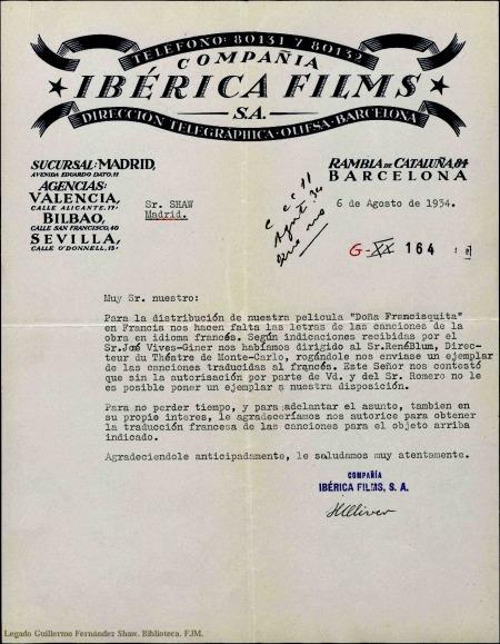 Ibérica_Oliver Letter