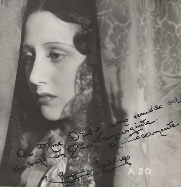 "Raquel Rodrigo, star of ""Doña Francisquita"""