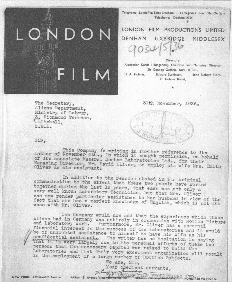 London Film Letter_Oliver